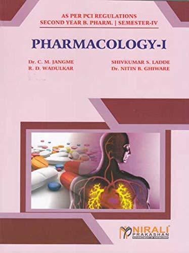PCI Regulations Pharmacology I - Semester-IV