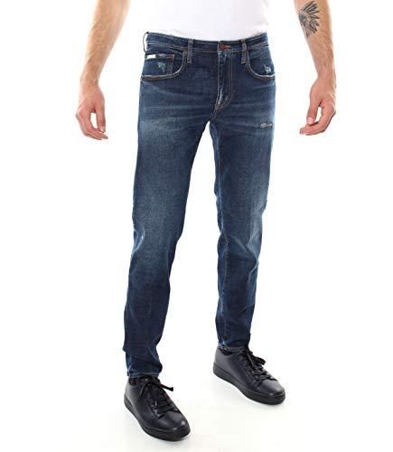 PEOPLE (+) Jeans Dali 5 Tasche Denim da Uomo Casual
