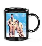 BRIANAXEKOY #Twins Movie with #Arnold Schwarzenegger #Danny DeVito Coffee Mug for Women and Men Tea Cups