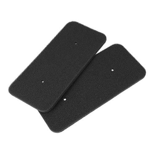 2x DL-pro Filter passend für Candy 40006731 Trockner Schaumfilter 270x125mm Sockelfilter an Wärmetauscher Wärmepumpentrockner Kondenstrockner