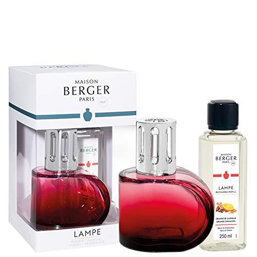 Lampe Berger Alliance - Ambientador (430 ml, 13 cm), Color Rojo