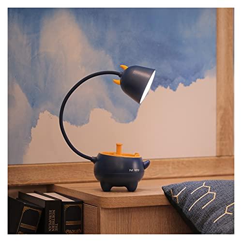 XMYINGWEI Lampada da Scrivania Nuovo Smart Touch Charging Pet Pet Lampada da Tavolo 3 modalità Illuminazione luminosità Regolabile Lampada da Tavolo Desk per Bambini (Body Color : Calf)