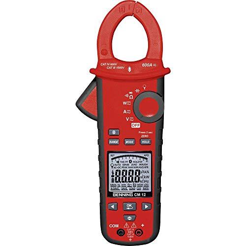 Benning CM 12 TRUE RMS-Digital-Leistungs-Stromzangen-Multimeter, 044680