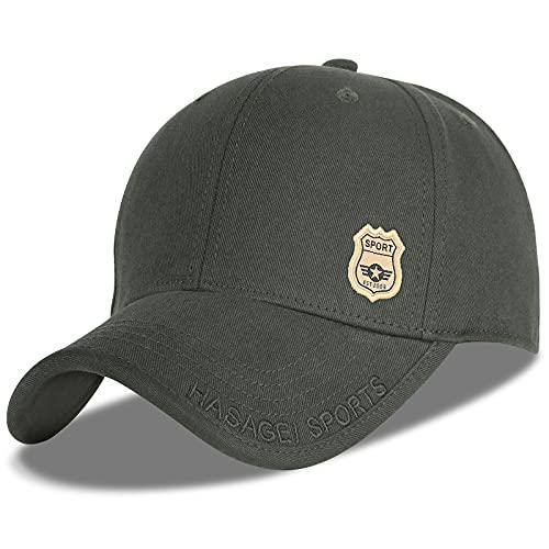 AOHAN Basecap Herren Baseball Cap Damen Outdoor Mütze Casual Classic Mode Baseballmütze Kappe Sonnenblende Hüte Verstellbar Unisex Cotton Cap (Baseball Cap-Grün)