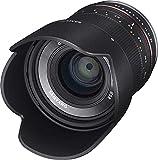 Samyang 21/1,4 Objektiv APS-C Fuji X manueller Fokus Fotoobjektiv, Weitwinkelobjektiv schwarz