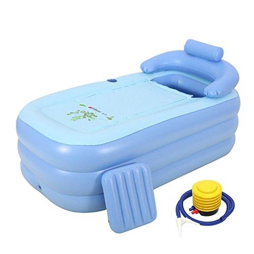 LJF bain gonflable Baignoire gonflable Isolant thermique plus épais Adult Baignoire pliante Baignoire pour enfant ( taille : 160*84*64cm )