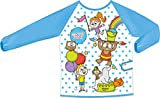 Maped Color'Peps Tablier de Protection pour Enfant de 18 mois à 5 ans - Peinture et Loisir Créatif - Imperméable et Nettoyage Facile - Motif Fille et Garçon