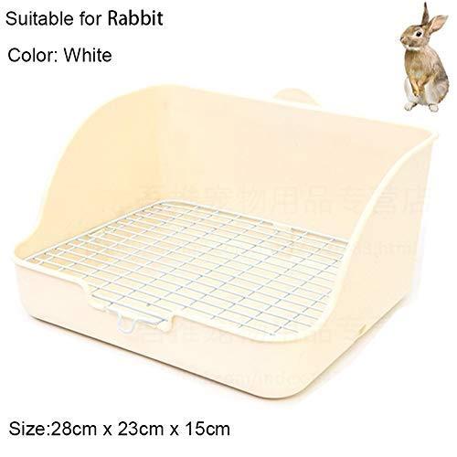 ZXL kattenstrooistast, pet, kleine ratten, toilet, plek, potje, trainer, hoek, bedkast, huisdierpan voor kleine kattenstrooisjes, kattenstrooisjes, kleur: blauw, maat: 28 x 23 x 15 cm