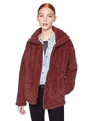 Billabong Women's Cozy Days Jacket, Coco Berry, M