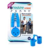 NASIVENT Sport - Premium Nasendilatator - Starter Set - Sky Blue - verbesserte Nasenatmung - Nasenspreizer - einzigartig dank innovativer Haltezapfen - aus hochwertigem Silikon -