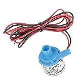 FYYONG Bomba de agua, DC12V 0.35A 5W 2 l/min resistente al desgaste bajo nivel de ruido de la bomba de agua en miniatura de la categoría alimenticia sin escobillas de CC sumergible Compatible with c