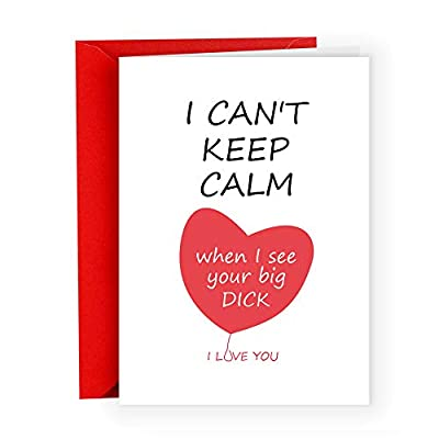 Funny Valentine's Day Gifts,Cool & Unique Anniversary Card for Husband Boyfriend Men