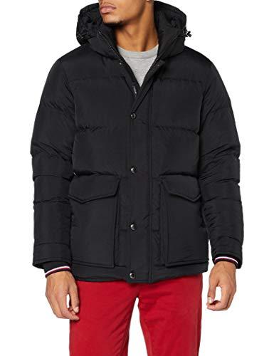 Tommy Hilfiger Herren Tommy Down HDD Jacket Jacke, Black, M