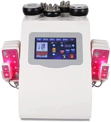6 en 1 Máquina de Adelgazamiento de Cuerpo 40K Cavitación ultrasónica Quemador de Grasa RF Multipolar Vacío Pérdida de Peso Instrumento Cuerpo Shaper Máquina de Belleza Salón y Uso en el hogar