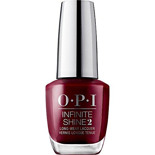 OPI Infinite Shine - Esmalte de Uñas Semipermanente a Nivel de una Manicura Profesional, Malaga Wine Color Morado - 15 ml