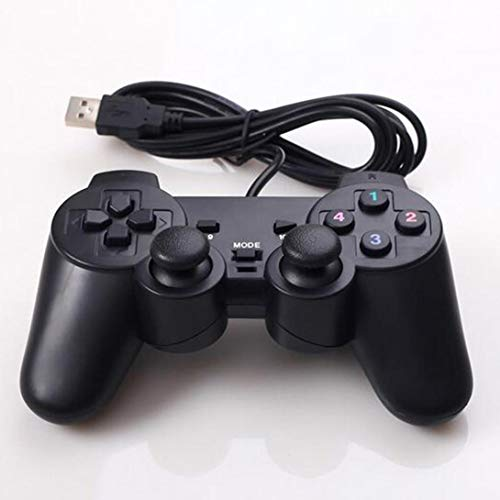 Swiftswan Gamepad Joystick USB2.0 Shock Joypad Gamepad Gamecontroller PC Laptop Win7 / 8/10 / XP/Vista