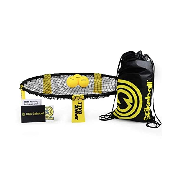 Spikeball Standard 3 Ball Kit – Game for The Backyard, Beach, Park, Indoors