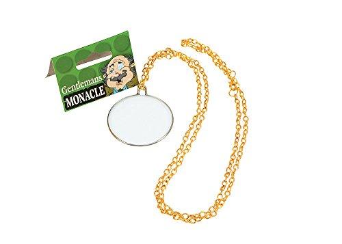 Bristol Novelty BA097 Monokel, Gold, Herren, Einheitsgröße