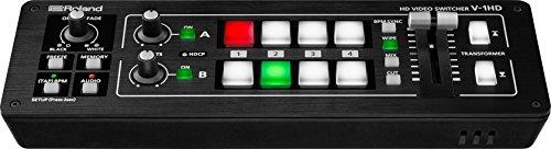 Roland V-1HD Video-Switcher - Unterstützung von Videokameras, Action-Kameras, Smartphones, Tablets und weiteren HDMI-Geräten