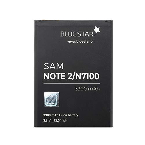 Blue Star Premium - Batería para Samsung Galaxy Note 2 (Ion de Litio, 3300 mAh)