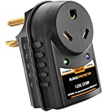 RV Surge Protector 30 Amp - Power Adapter with Integrated Surge Protection - ETL Listed 30 Amp Surge Protector for RV