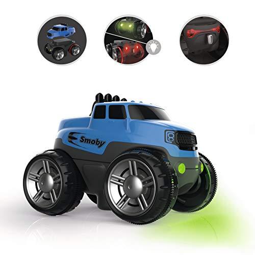 Smoby – Flextreme SUV blau – zusätzliches Auto für Flextreme Starter-Set, Rennbahn für Autos, für Kinder ab 4 Jahren, flexible Strecke mit Looping