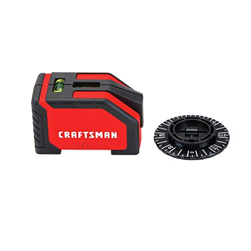 CRAFTSMAN Laser Level, 10-foot Range (CMHT77634)