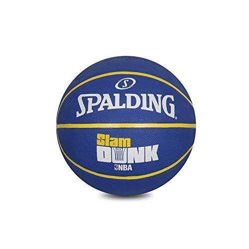 Great Features Of Spalding BB NBA-Slamdunk Basketball, Black & Blue (Size 5 Blue)
