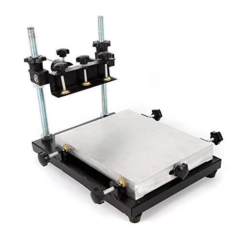 Z&Y Ltd Table D'impression D'imprimante Machine D'impression Pour L'impression D'écran En Aluminium Ecran Impression Table Manuel