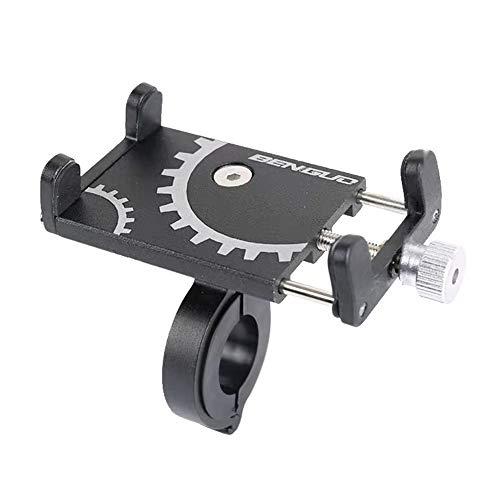 Lixada Fahrradtelefonhalter Universal Fahrrad Motorrad Lenker Clip Standhalterung Handyhalterung für Breite 60-100mm Handy, Smartphone