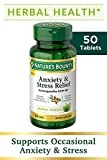 Nature's Bounty Anxiety and Stress Relief, Contains Ashwagandha and L-Theanine...