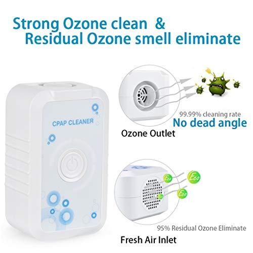 HERAHQ Adaptador USB Universal de aniones purificador de Aire portátil de ozono Recargable de filtros Limpieza Máquina Bundle Inicio de Carbono, para la purificación del Aire, generador de ozono