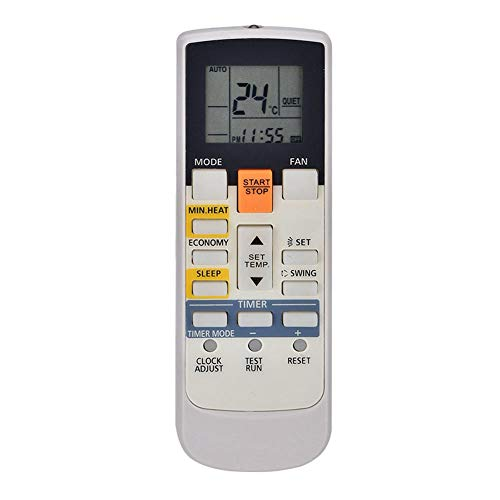 Control Remoto de Aire Acondicionado de Repuesto para Fujitsu AR-RAH1E AR-RAH2E, Control Remoto de CA con Pantalla LCD Distancia remota de 8 m