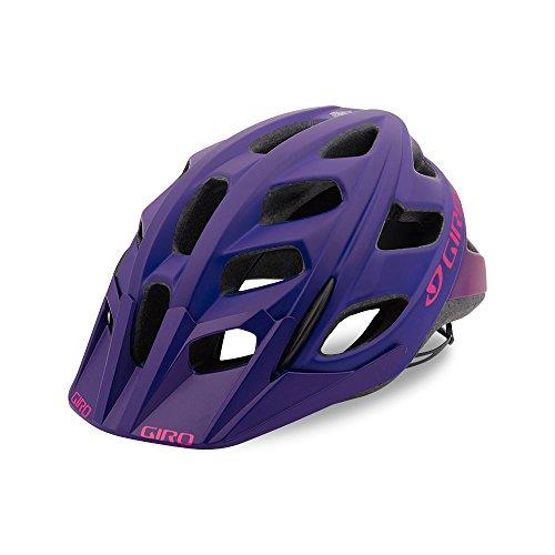 Giro Hex Adult Mountain Cycling Helmet - Medium (55-59 cm), Matte Purple/Bright Pink (2018)