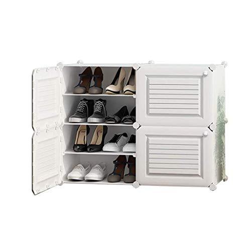 Diaod Zapato Sencilla Gabinete, Inicio de Almacenamiento Multi-Capa a Prueba de Polvo de plástico de Gran Capacidad compartida Zapato pequeño Estante