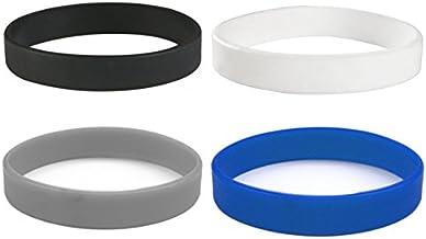 Beyond Dreams Siliconen armbanden eenkleurig 4 x siliconen armband - motivatiearmband - fitness - rubberen armband voor sp...