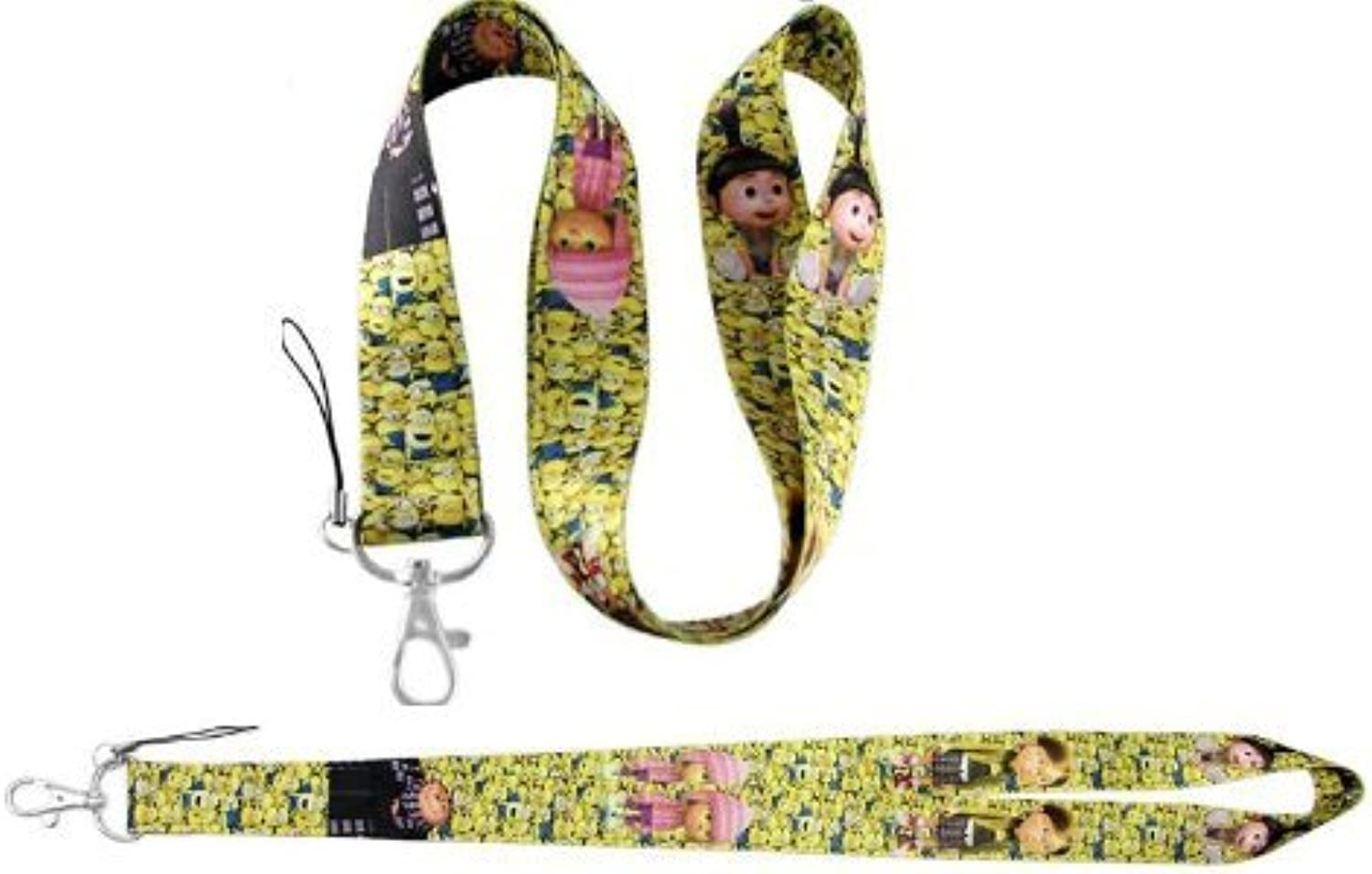 Despicable Me Minions Lanyard Lanyard Lanyard keychain Holder - Gelb by cheapest Elect-lanyard B00F8KSOUK | Helle Farben