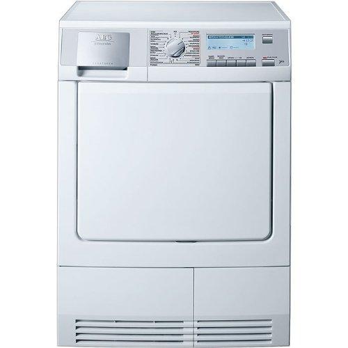 AEG Lavatherm 88840 Kondens-Wäschetrockner FL / B / mit Dampftechnologie / 3,92 kWh / 7 kg