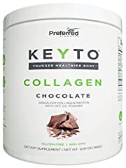 POWERFUL MULTILEVEL BENEFITS of KEYTO Collagen drink go above and beyond of what ordinary Collagen Supplement can offer you. Combined with MCT Oil Powder and electrolytes it will provide you with the perfect amount of extra energy and help you mainta...