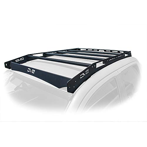 DV8 Offroad | Slotted Aluminum Roof Rack | Compatible with...