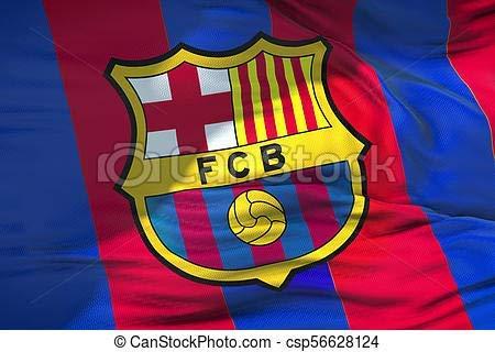 Flag Fc. Barcelona - Abmessungen 150 X 100 cm Polyester 100% - für Außen E Innenseite