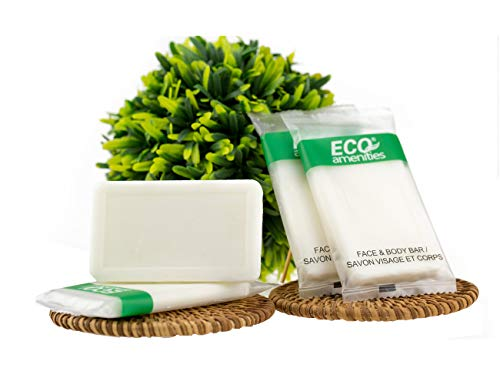 ECO Amenities Travel Size Hotel Soap Bars in Bulk (1 ounce, 200 Soap Bars); Individually Wrapped Mini Sized Soap Bars; Hotel and Bathroom Toiletries; Hotel, Motel. Short Term Rentals, Airbnb