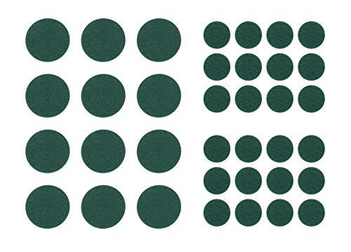 Almohadillas de protección para muebles de jardín falsos, autoadhesivas, color verde, para muebles de jardín, cenador de mesa y sillas