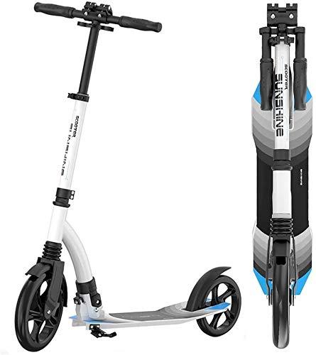 Patín Eléctrico Kick adultos scooter con ruedas grandes plegables Cercanías scooters con...