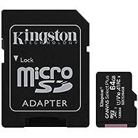 Kingston Canvas Select Plus Tarjeta microSD, SDCS2/64GB Class 10 con Adaptador SD