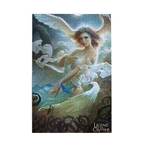 EXking Rompecabezas de ángeles y Demonios para Adultos, niños, 3D, cumpleaños, Navidad, formación de Equipos, Educativo, Intelectual, Divertido, Juego Familiar