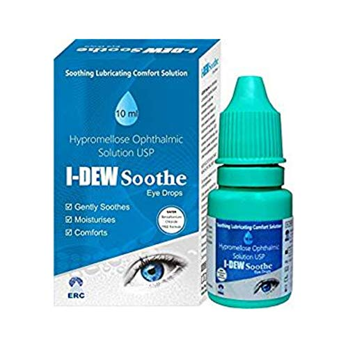 I-Dew Soothe Daytime Eye Drops for Dry Eyes,...