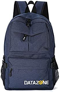 Datazone Travel Backpack, Lightweight Nylon Waterproof Laptop Backpack, Shoulder Bag with USB Charging, College Students B...
