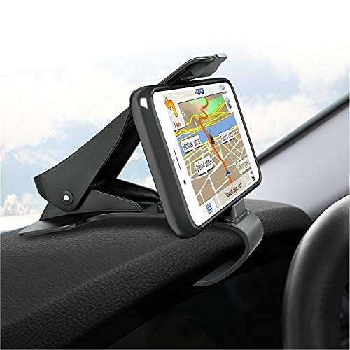 CQLEK® Stylish Chimti Car Mobile Holder for Dashboard Anti-Slip Vehicle GPS Cellphone Mount Mobile Clip Stand for Galaxy S8/S7/S6/S5 and Other Smartphones Size Upto 6.5″ Inch