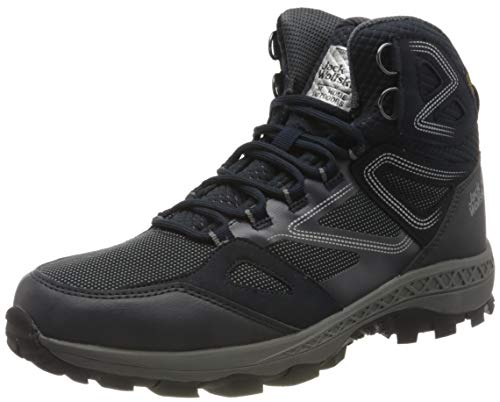 Jack Wolfskin Herren Downhill Texapore MID M Outdoorschuhe, Dark Blue/Grey, 43 EU